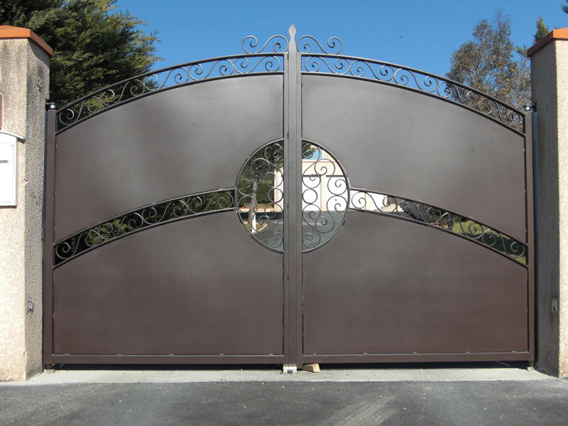 steel gates for unmatched aesthetics